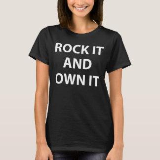 Basculez-et possédez-le T-shirt Tumblr