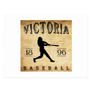 Base-ball 1896 du Canada de Colombie-Britannique Carte Postale