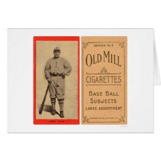 Base-ball 1910 de Dugey Waco Carte