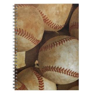 Base-ball Carnets À Spirale