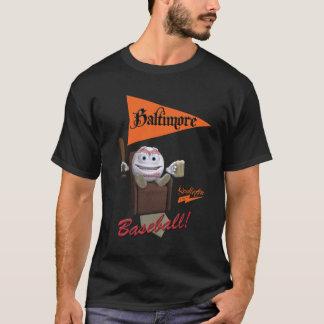 """Base-ball de Scolletta """"Baltimore !"""" T T-shirt"""