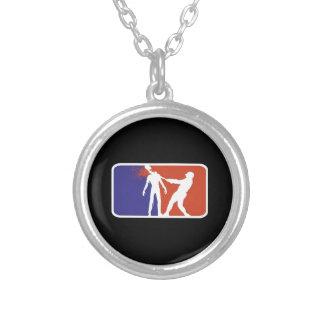 base-ball de zombi collier