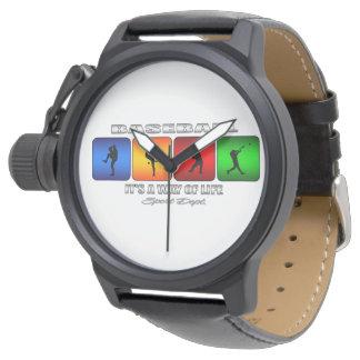 Base-ball frais montres bracelet