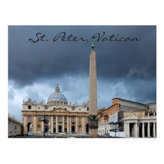 Basicila de St Peter, Ville Sainte de Vatican Carte Postale