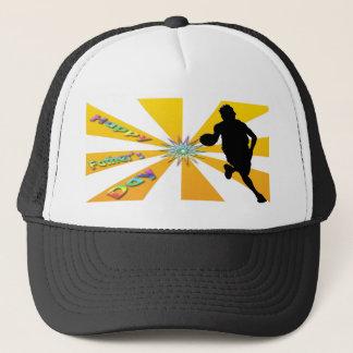 Basket-ball - casquette heureux de fête des pères