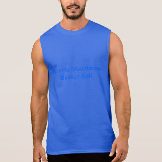 Basket-ball Jersey d'alpiniste d'Ellenville T-shirt Sans Manches