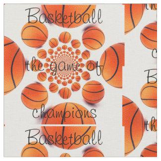 Basket-ball le jeu du tissu de champions
