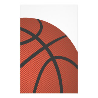 basket-ball papier à lettre
