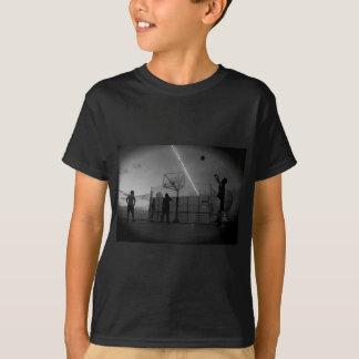 Basket-ball pendant la vie t-shirt