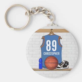 Basket-ball personnalisé Jersey (RES) Porte-clef