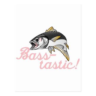 Basse-tastic Carte Postale