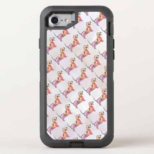 Basset Hound Coque OtterBox Defender iPhone 8/7