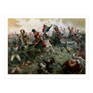 Bataille de waterloo, le 18 juin 1815, 1898 (coule cartes postales