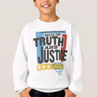 Bataille pour la vérité et la justice sweatshirt