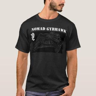 Bateau de Gyrhawk de nomade - obscurité T-shirt