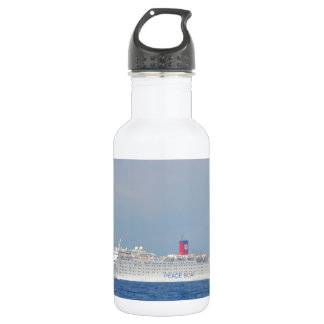 Bateau de paix bouteille d'eau en acier inoxydable