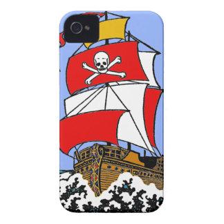 Bateau de pirate coques iPhone 4 Case-Mate