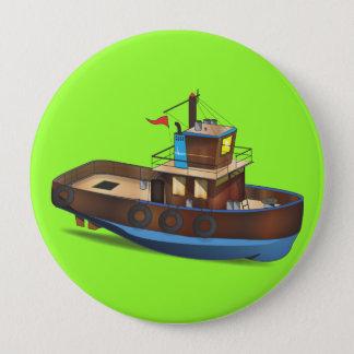 Bateau de traction subite badge rond 10 cm
