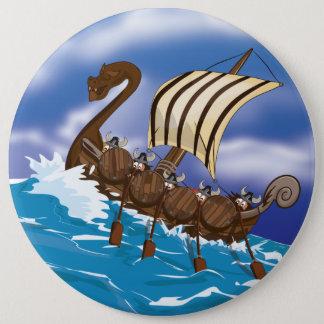 Bateau de Viking Badge Rond 15,2 Cm