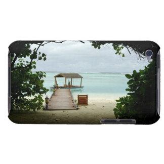 Bateau d'île des Maldives Coque iPod Case-Mate