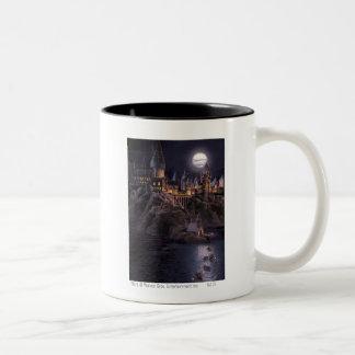 Bateaux de Hogwarts à se retrancher Mug Bicolore