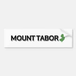 Bâti le Thabor, New Jersey Autocollant De Voiture