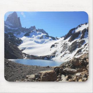 Bâti proche Fitz Roy de lac glacier Tapis De Souris
