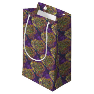 Batik de tournesol petit sac cadeau
