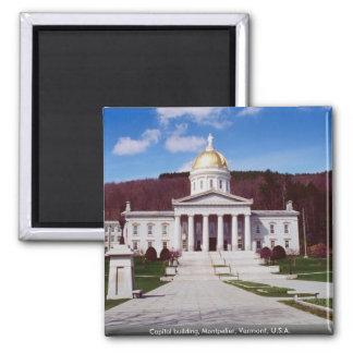 Bâtiment de capitol, Montpellier, Vermont, Aimant