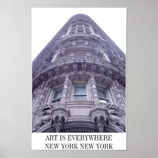 BÂTIMENT GOTHIQUE À NEW YORK CITY