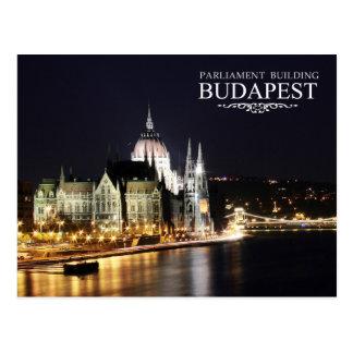 Bâtiment hongrois du Parlement, Budapest Carte Postale