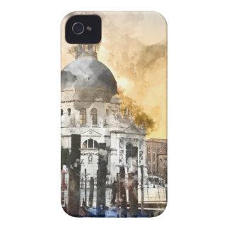 Bâtiments colorés à Venise Italie Coques Case-Mate iPhone 4