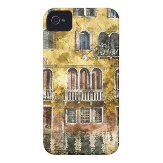 Bâtiments colorés de Venise Italie Coque Case-Mate iPhone 4