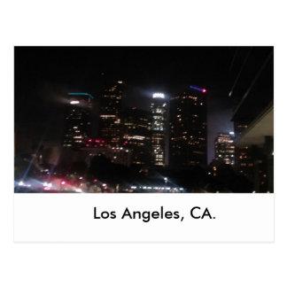 Bâtiments du centre de Los Angeles Carte Postale