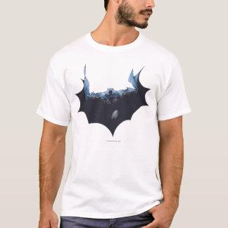 Batman avec le cap foncé t-shirt
