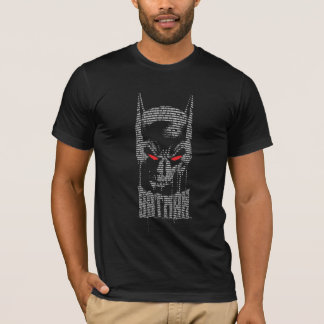 Batman avec l'incantation t-shirt