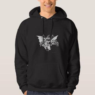 Batman et conception d'arbre veste à capuche