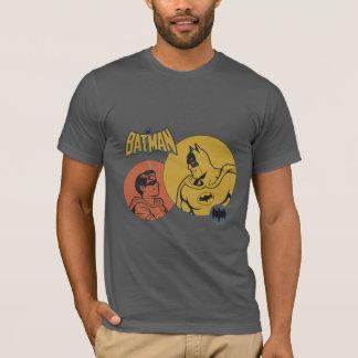 Batman et graphique de Robin - affligé T-shirt