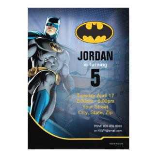 Batman | Gelukkige Verjaardag 12,7x17,8 Uitnodiging Kaart