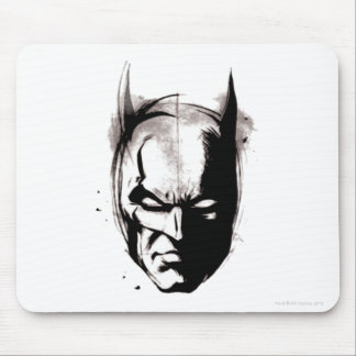 Batman Getrokken Gezicht Muismatten