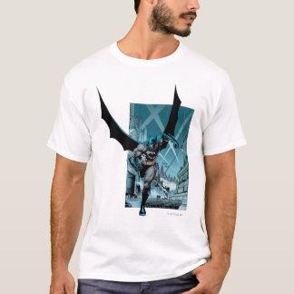 Batman met stadsachtergrond t shirt