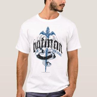 Batman | Naam met het Logo van het Zwaard T Shirt