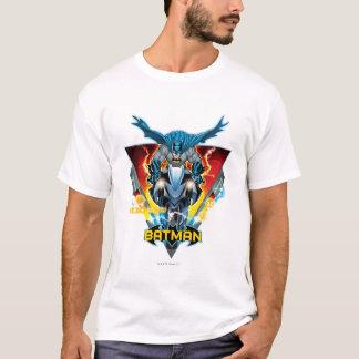 Batman op cyclus met logo t shirt