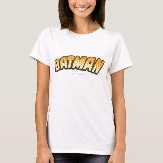 Batman | Oranje Halftone Logo T Shirt