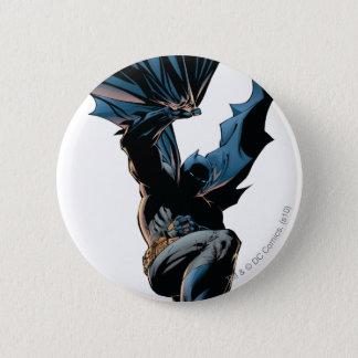 Batman sautant en bas du tir d'action badge rond 5 cm
