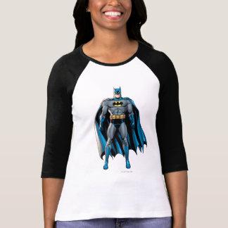Batman staat op t shirt