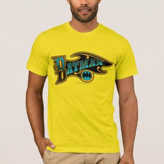 Batman | Vintage Turkoois Logo T Shirt