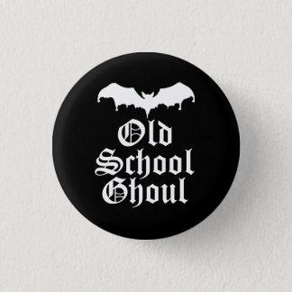 Batte de Goth de goule de vieille école Badge Rond 2,50 Cm