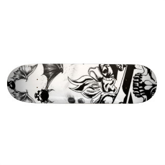 battes de crâne plateaux de skateboards customisés