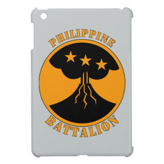 Batttalion philippin W/Text Coques iPad Mini